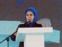 Cumhurbaşkanı Recep Tayyip Erdoğan'ın eşi Emine Erdoğan Afyonkarahisar'da