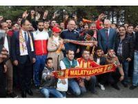 Yeni Malatyaspor, Elazığ'a uğurlandı
