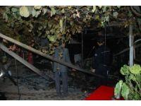 Bayramiç'te ev yangını