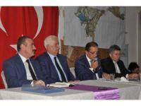 Başkan Ergül halk toplantısında yaptığı hizmetleri anlattı