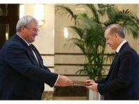 Ukrayna Büyükelçisi Sybiha, Cumhurbaşkanı Erdoğan'a güven mektubunu sundu
