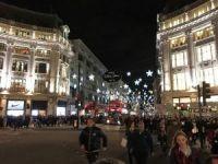 Londra'da yılbaşı alışverişi hızlandı