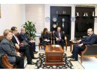YÖK Başkanı Saraç, AB Türkiye Delegasyonu Başkanı Berger ile görüştü