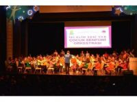 Çocuk Senfoni Orkestrası Ankara'da UNICEF için çaldı