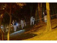 Patlamanın ardından olay yeri inceleme ekipleri çalışma başlattı