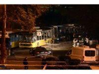 Beşiktaş'ta saldırının gerçekleştiği olay yeri görüntülendi