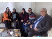 Vali Aykut Pekmez'in eşinden şehit ailelerine ziyaret