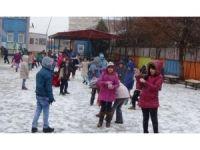 Iğdır'da eğitime kar engeli