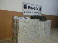 Bingöl'de kaçakçılık operasyonu