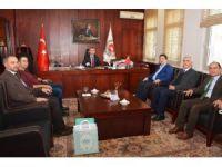 Başkan Yazgı'dan Aksaray Adliyesi'ne ziyaret