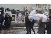 Genç'ten Halep'e ilk yardım konvoyu yola çıktı