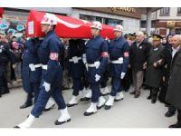 El Bab şehidi Astsubay Erdoğan son yolculuğuna uğurlandı