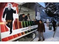Belediyeden vatandaşların içini ısıtan hareket