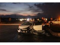 Bolu'da iki otomobil çarpıştı: 1 yaralı