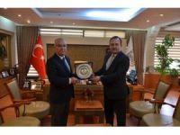 Kırklareli İl Emniyet Müdürü Adalar'dan Başkan Hacı'ya ziyaret