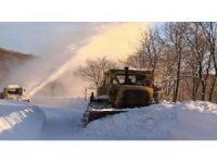 Ulaşıma kapanan 120 köy yolu açıldı