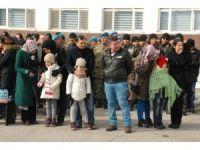 Şehit olan askerler için Bitlis'te tören düzenlendi