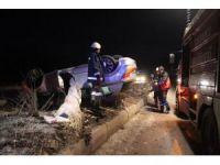 Tavşanlı'da meydana gelen trafik kazasında 1 kişi yaralandı