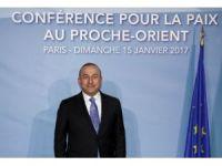 Bakan Çavuşoğlu, Ortadoğu Barış Konferansı'na katılıyor