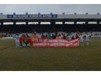 Futbolcular İzmir kahramanı Sekin'i unutmadı