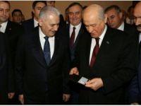 Başbakan Yıldırım'dan MHP Genel Başkanı Bahçeli'ye yeni kimlik jesti