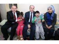 Pamukkale Belediyesi Aleyna ve Ahmet'i sevindirdi