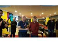 3 bant Bilardo turnuvası sona erdi