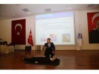 MESKİ çalışanlarına 'İş Sağlığı ve Güvenliği Eğitimi' verildi