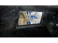Tankerin zulasında 33 bin 750 paket kaçak sigara ele geçirildi