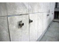 Hırsızlar caminin musluklarını çaldılar