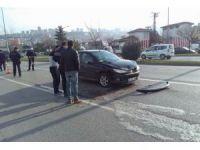 Samsun'da trafik kazası: 3 yaralı