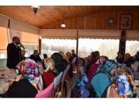 Başkan Üzülmez, Kadınlar Kulübü'nün toplantısına katıldı