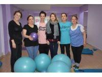 Şehzadeler Kadın Spor Merkezine yoğun ilgi