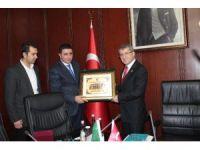 Cezayir heyetinden, AK Partili Serdar'a ziyaret