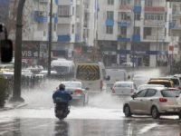 Antalya sağanak yağışa teslim