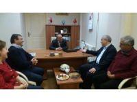 Vali Güvençer'den sivil toplum kuruluşlarına ziyaret