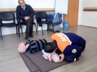AFAD personeline uygulamalı ilk yardım eğitimi