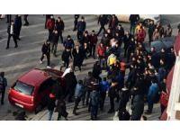 Erzurum'da iki grup tekme tokat birbirine girdi
