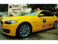 230 bin liralık BMW'yi taksi yaptı