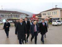 Vali Zülkif Dağlı, Çilimli ilçesini ziyaret etti