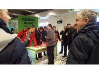Makedon öğreciler BTM'ye hayran kaldı
