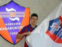 Bliznichenko Kardemir Karabükspor'a imzayı attı