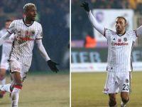 Beşiktaş'ta gollere Cenk Tosun ile Talisca imzası