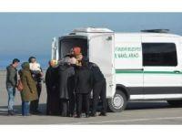 Diyarbakır'da şehit olan polis memuru Özcan'ın naaşı Trabzon'a getirildi