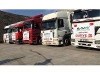 AYDER'in 5 yardım TIR'ı Suriye'ye yola çıktı