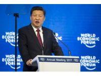 """Çin Devlet Başkanı Jinping: """"Dünya sorunları için küreselleşmeyi suçlamak anlamsız"""""""
