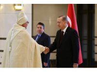Cumhurbaşkanı Erdoğan Fas Büyükelçisini kabul etti