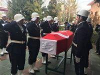 Şehit polis memuru Ali Sevim'in naaşı Reşadiye Camii'ne getirildi