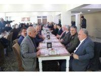 Haymana Muhtarlar Derneği'nden Kaymakam Göktürk'e 'hoş geldin' yemeği