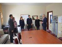 Kaymakam Güven'den okullara ziyaret